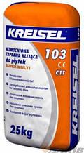 Клей для керамической плитки (теплый пол ), SUPER MULTI 103 Kreisel