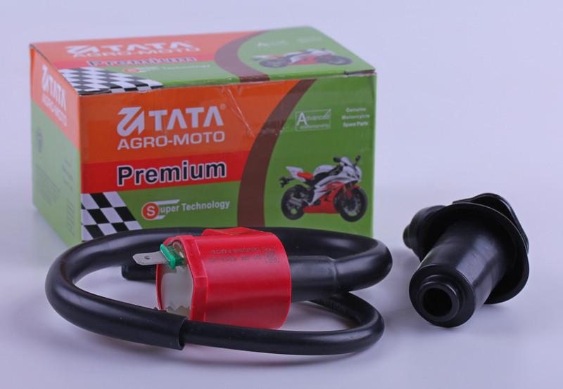 Катушка зажигания с чехлом свечидля скутера  4T - Premium