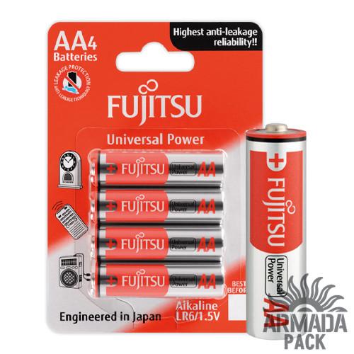 Батарейки FUJITSU Alkaline Universal Power АА LR6 (4 шт)