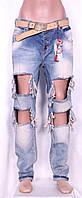 Турецкие джинсы-бойфренды для женщин