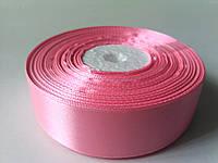 Лента атлас 25мм светло-розовая метр