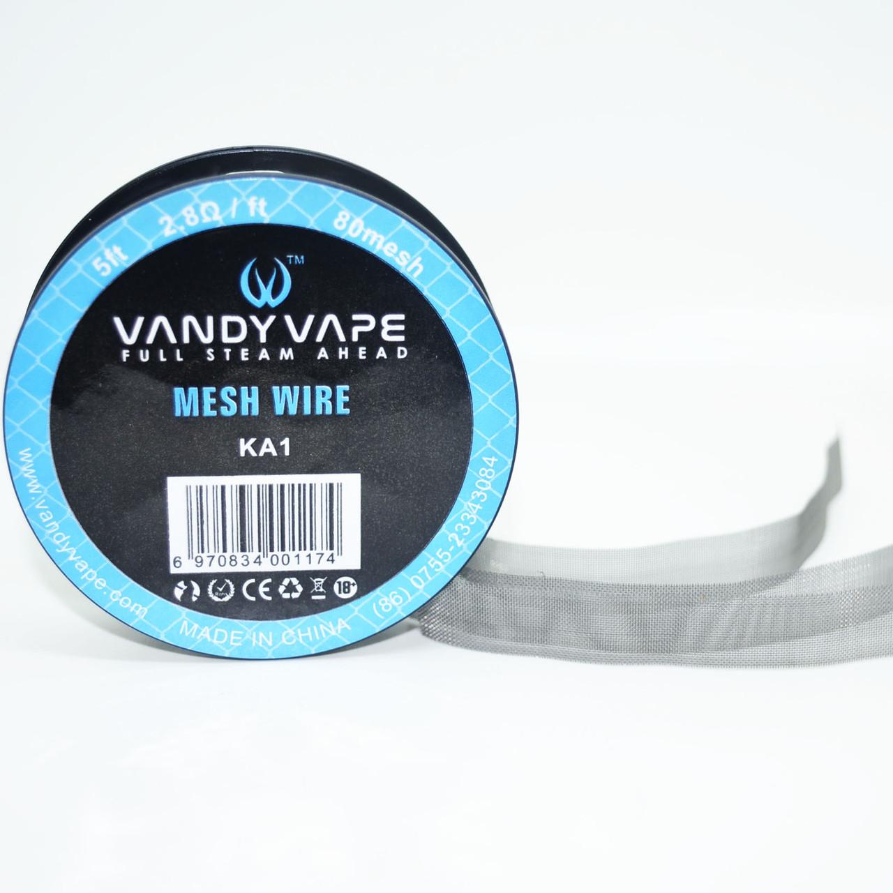 Mesh Wire / Сетка Kanthal A1 80 mesh 10см