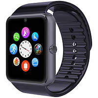 🔝 Смарт часы, Модель GT08, Черного цвета, смарт вотч  , Часы и будильники: настольные, наручные электронные