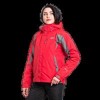 Женская горнолыжная куртка The North Face (3в1) 10311-6 красная