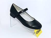 Качественные туфли   для школы 34 - 22.5 см  для девочек clibee, фото 1