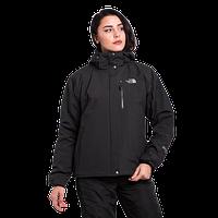 Женская горнолыжная куртка The North Face (3в1) 10311-9 чёрная