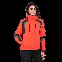 Куртка женская горнолыжная The North Face (3в1) 8193-10 оранжевая