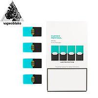 Pods Classic Menthol  Картриджи для электронной сигареты (5% никотина, 4 штуки)