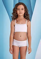 Топ для девочки Baykar Турция белый 4484