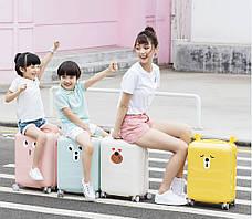Чемодан Xiaomi Mi Kids Luggage 30 л Желтый (3006735), фото 3