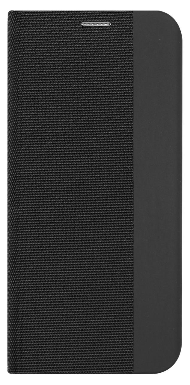 Чохол-книжка DEF для Xiaomi Redmi 7 Fabric PU Чорний (491257)