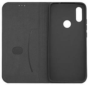 Чохол-книжка DEF для Xiaomi Redmi 7 Fabric PU Чорний (491257), фото 2