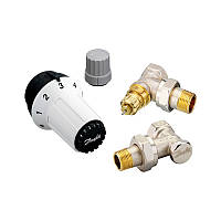 """Комплект термостатический Danfoss RAS-C+RA-NF+RLV-S 1/2"""" угловой 013G5253"""