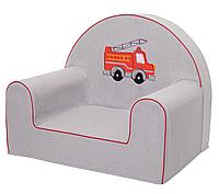 Мягкое кресло в детскую комнату «Пожарная машина»