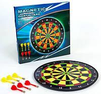 Мишень для игры в дартс магнитная 16in Baili (d-40см, в комплекте 6 дротиков, инструкция)