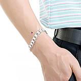 Широкий тяжелый мужской браслет 16102, фото 3