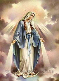 """Набор алмазной вышивки (мозаики) икона """"Дева Мария Непорочное зачатие"""""""