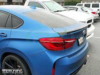 Спойлер крышки багажника на BMW X6 F16 M-PERFORMANCE стиль