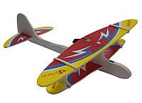🔝 Детский самолет, планер метательный, на USB Aircraft, цвет - красный, самолет игрушка   🎁%🚚