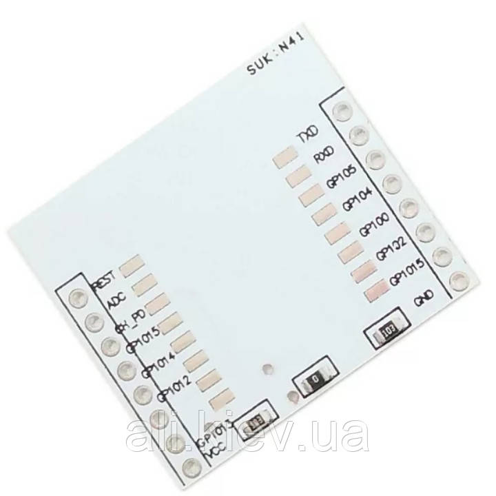 ESP8266 серійний адаптер плата для модулів WIFI  до ESP-07 ESP-12F ESP-12E для Ардуіно