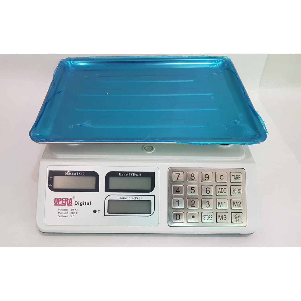 Торговые весы Opera OP-218 (50 кг)