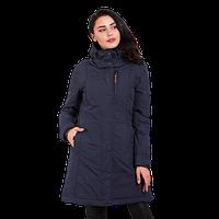 Женская осенняя куртка Camel Active (3 в 1) 310262-42 удлиненная темно-синяя