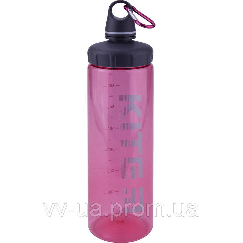 Бутылка для воды Kite K19-406-02, 750 мл, розовая