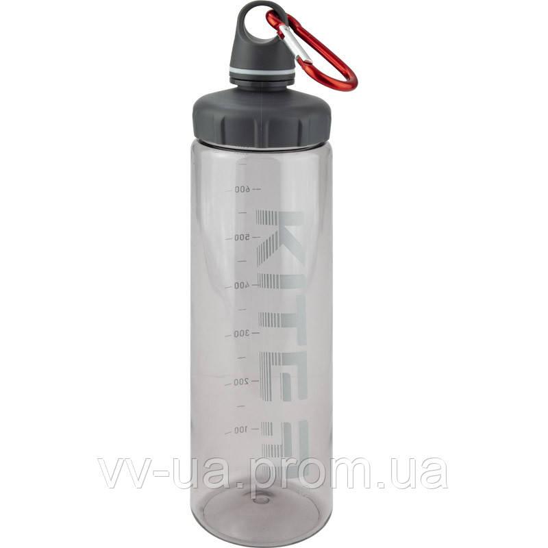 Бутылка для воды Kite K19-406-03, 750 мл, серая