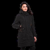 Куртка женская осенняя Camel Active 310682-09 длинная черная