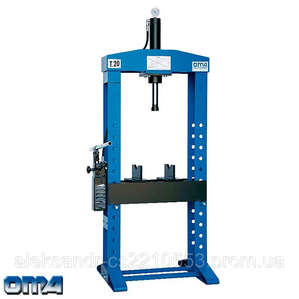Oma 653B - Пресс гидравлический напольный 15 т.