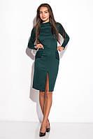 Платье женское 120P070 (Изумрудный)