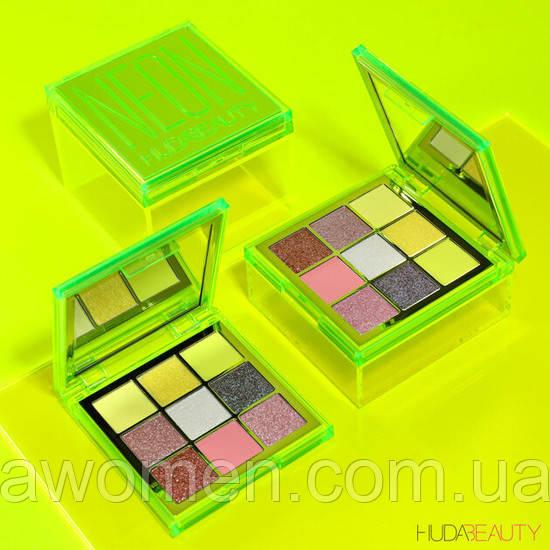 Тени Huda Beauty Neon Green Obsessions