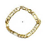 Красивый браслет на руку под золото 16107, фото 2