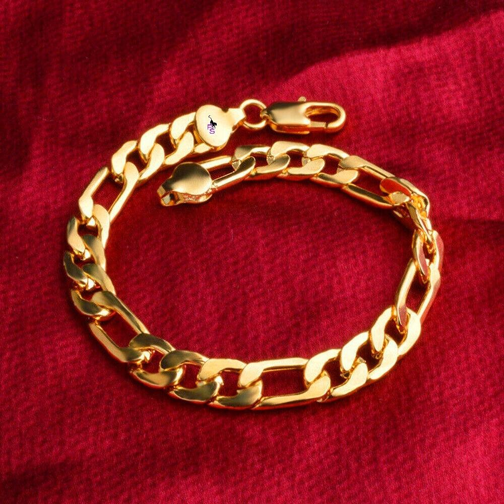 Красивый браслет на руку под золото 16107