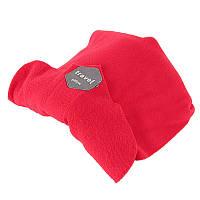 🔝 Дорожная ортопедическая подушка для путешествий Travel Pillow - Красная, с доставкой по Киеву и Украине | 🎁%🚚