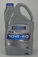 Масло моторное Ravenol 10W40 TEG (под газ) 4л