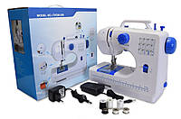 🔝 Портативная универсальная швейная машинка, FHSM 506, маленькая электрическая, Синяя, с доставкой , Швейные машинки и швейные аксессуары