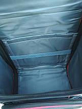 Школьный ортопедический рюкзак с гоночным авто 35*26*20 см, фото 2