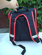 Школьный ортопедический рюкзак с гоночным авто 35*26*20 см, фото 3