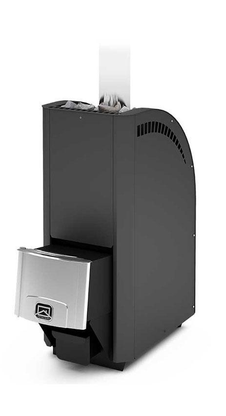 Дровяная печь-каменка Теплодар Каскад 18 ЛП с ГЛП объем парилки 12-18 м.куб, генератор легкого пара