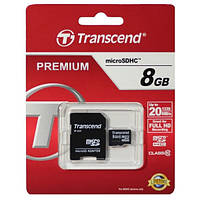 Флешка Transcend micro SD 8 Гб