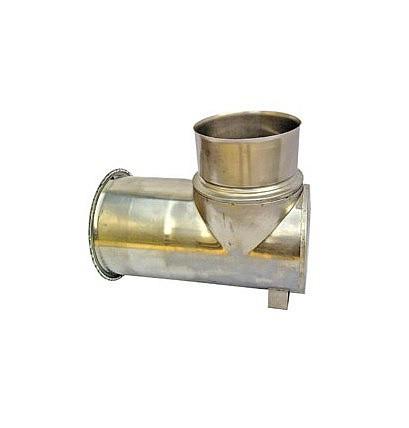 Одностенная Ревизия Ø120 мм для дымоходов из нержавеющей стали
