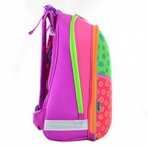 Разноцветный каркасный ранец 1 вересня для девочки38*29*15, фото 3