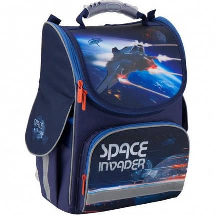 Каркасный ортопедический рюкзак для мальчика Kite EducationSpace trip35*25*13, фото 2