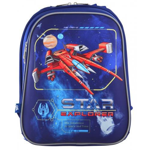 Школьный каркасный ранец 1 Вересня для мальчика 38*29*15