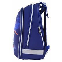 Школьный каркасный ранец 1 Вересня для мальчика 38*29*15, фото 2
