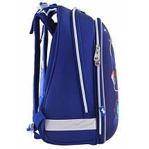 Школьный каркасный ранец 1 Вересня для мальчика 38*29*15, фото 3