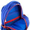 Школьный синий ортопедический рюкзак для мальчика Kite Motocross38*29*13, фото 2