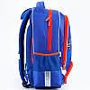 Школьный синий ортопедический рюкзак для мальчика Kite Motocross38*29*13, фото 3