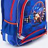 Школьный синий ортопедический рюкзак для мальчика Kite Motocross38*29*13, фото 6